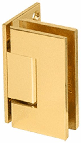 C.R. LAURENCE V1E044GP CRL Gold Plated Vienna 044 Series Wall Mount Offset Back Plate Hinge