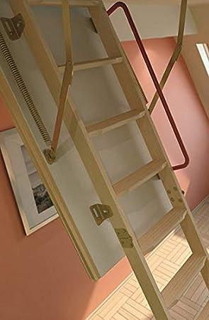 Hauteur maximale sous plafond 2.80m Echelle escamotable