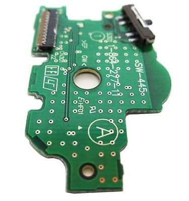 Gametown® Circuit Board ABXY with Power Switch Replacement for PSP 1000 1001 Part