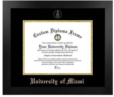 - University of Miami Most Popular Diploma Frame