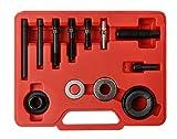 WINTOOLS 12 Pcs Pulley Puller Remover & Installer Kit Power Steering Pump Alternator Pulley