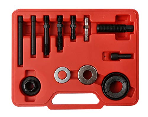 WINTOOLS 12 Pcs Pulley Puller Remover & Installer Kit Power covid 19 (Power Steering Pulley Puller coronavirus)