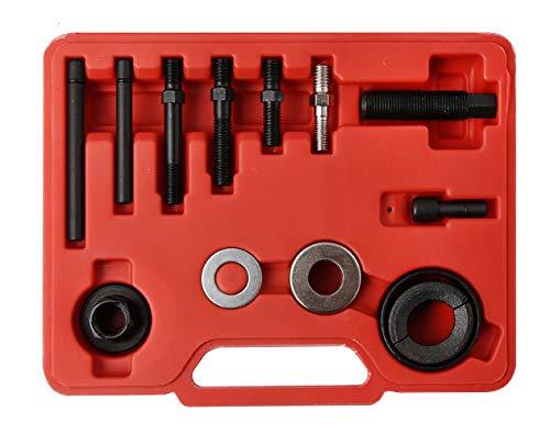 - WINTOOLS 12 Pcs Pulley Puller Remover & Installer Kit Power Steering Pump Alternator Pulley
