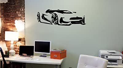 Wall Mural Vinyl Sticker Decal Fast Muscle Car Sport Racing Auto AL419