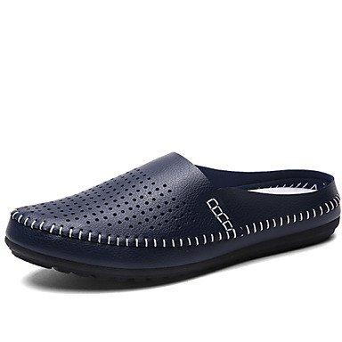 Zapatos de hombre exterior / Mocasines Casual negro / azul / amarillo / blanco Amarillo
