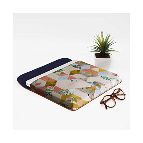 For Sleeve 13 Macbook Pro Air Real Envelope DailyObjects Leather Of Geometry Love qTx0T7