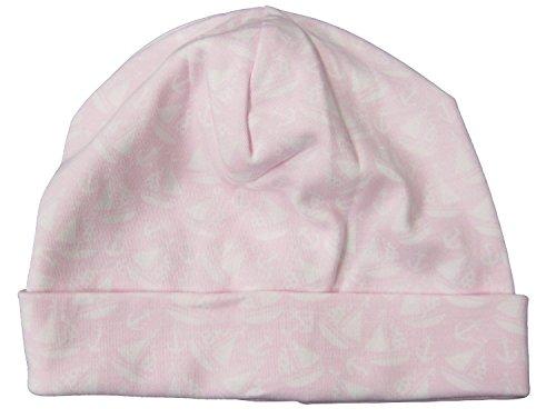 (Kissy Kissy Baby-Girls Infant Gone Sailing Print Hat-Pink-Small)