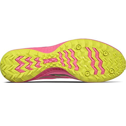 Saucony Kilkenny Country Running Pink 7 Citron Xc Vizi Flat Cross Women's Shoe rAqBfwr