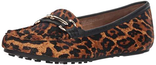 Aerosoles Women's Drive Along Loafer Leopard Combo 6 W US
