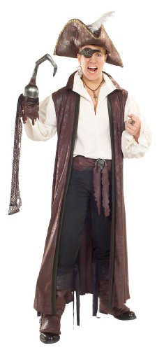 [Rubie's Costume Co Dist Suede Long Pirate Coat Costume] (Pirate Coat For Sale)