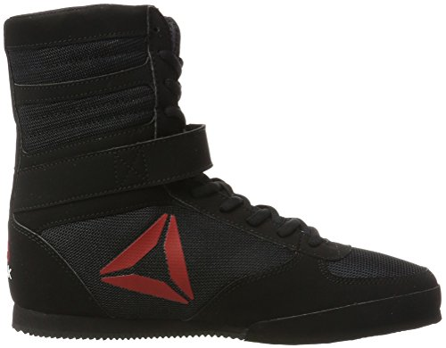 Noir black white Boxe Chaussures De Buck Reebok black Boot Boxing wY88qfx1S