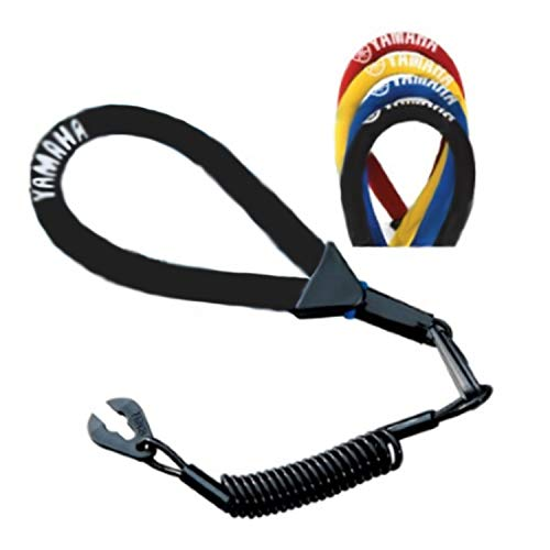 Yamaha OEM WaveRunner PWC Watercraft Floating Lanyard - Black MWV-LANCD-00-BK; MWVLANCD00BK