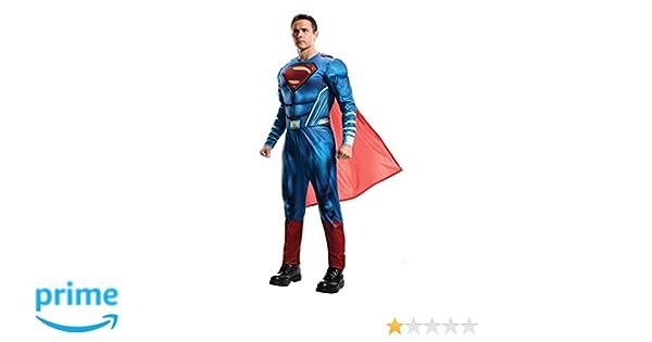 Superman Disfraz Classic Adultos, Talla Única (Rubies Spain 820952): Amazon.es: Juguetes y juegos