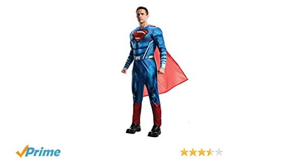 Rubies Superman Disfraz Classic adultos Talla Única 820952: Amazon.es: Juguetes y juegos