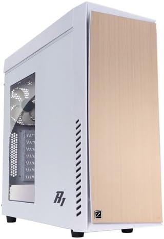 Zalman R1-White Midi-Tower Blanco - Caja de Ordenador (Midi-Tower, PC, Blanco, ATX,ITX,Micro ATX, Hogar/Oficina, 36 cm): Zalman: Amazon.es: Informática