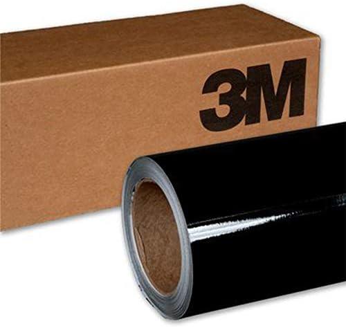 3M 1080g12グロスブラック5ft x 7ft (35Sq/ft)車ラップビニールフィルム