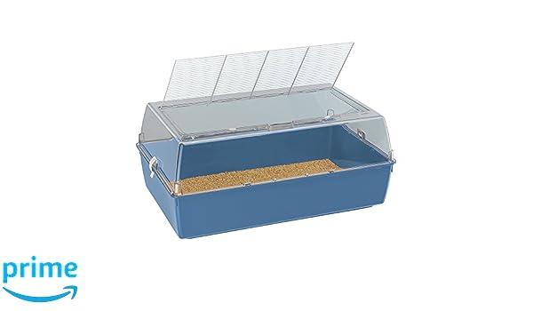 Ferplast Duna Multy Small Animal Cage, 71 x 46 x 31.5 cm, Blue ...