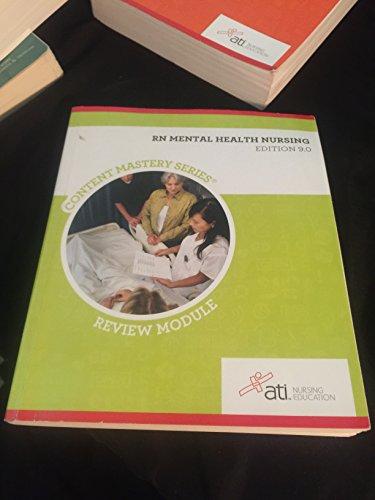 Rn Mental Health Nursing Edition 9  0