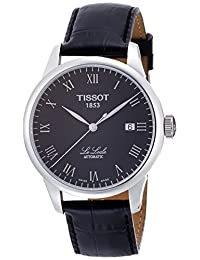 Tissot Men's T41142353 Le Locle Analog Display Swiss Automatic Black Watch
