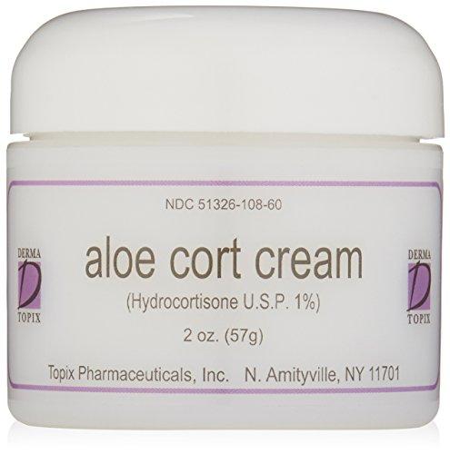 DermaTopix Aloe Cort Cream, 2 oz