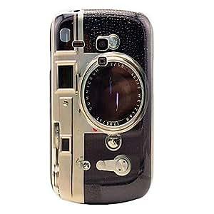 GONGXI- Modelo de la cámara retro duro Volver Funda para el Samsung Galaxy S3 I8190 Mini
