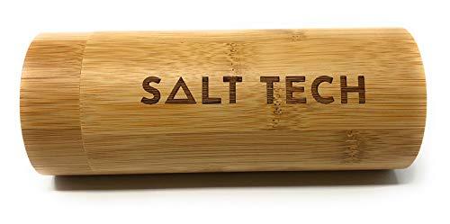 Salt Tech Bamboo Polarized Sunglasses 400 UV Mirror Reflective Colors (Case)