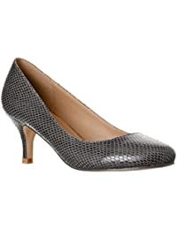 Amazon.com: Grey - Pumps / Shoes: Clothing, Shoes & Jewelry
