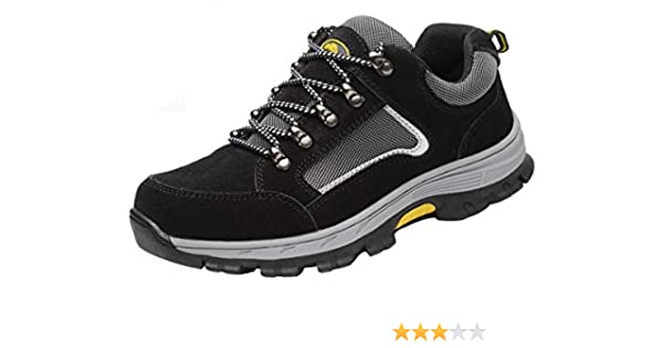 37f3d77d8c322 Amazoncom YI XIE Work Steel Toe Shoes Safety Shoes for Men and