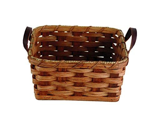 Amish Handmade Napkin Basket IN NATURAL