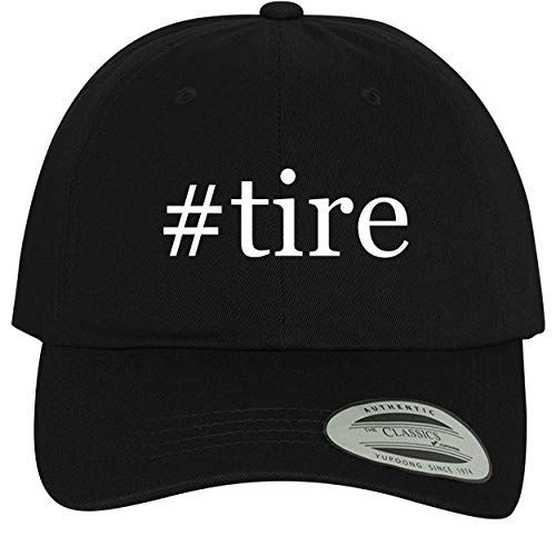 BH Cool Designs #tire - Comfortable Dad Hat Baseball Cap, Black