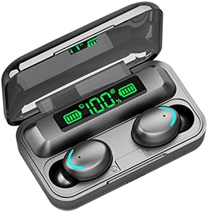 wumedy Multi-Function Mini Wireless Bluetooth Earphone with Digital Display Bluetooth Headsets