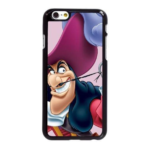 Captain Hook Y4X91T8JT coque iPhone 6 6S Plus 5.5 Inch case coque black A56DQH