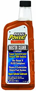 Diesel Power! 15220 Fuel Injector Cleaner and Lubricant - 40 Fl. oz.