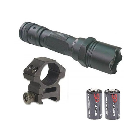 Push Button Tail Cap (Ultimate Arms Gear 130+ Lumens L.E.D Flashlight LED Tactical - Light Kit For Mossberg 500/590/835/Maverick 88 12/20 Gauge Shotgun With A 7/8