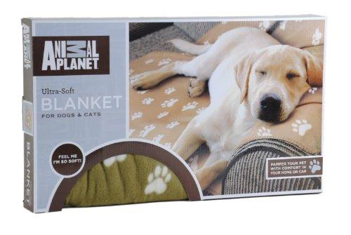 "Animal Planet Ultra-Soft Pet Blanket 63"" X 59"" Tan"
