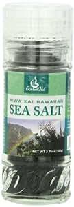 Gourmet Nut Sea Salt, Hiwa Kai Hawaiian, 3.75 Ounce