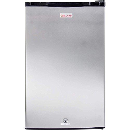 Blaze Outdoor Rated Stainless Steel Refrigerator (BLZ-SSRF130), 4.5 Cu Ft.