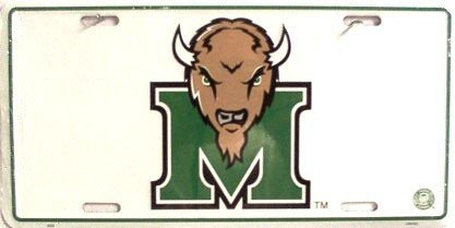 Marshall University NCAA Chrome License Plate (Marshall University Auto compare prices)