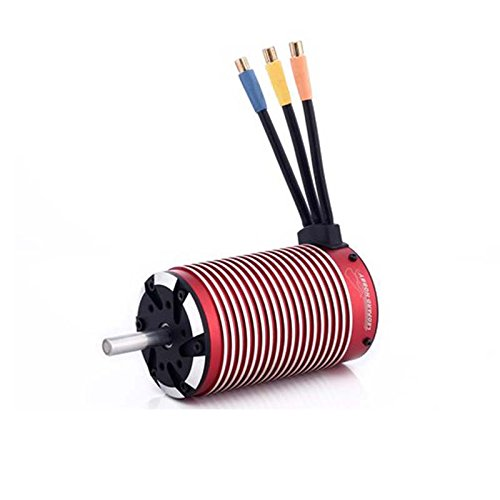 Leopard Brushless Motor (Leopard 5898 4-Pole Brushless Inrunner Motor, 1100KV For 1/5 RC Car, Truck)