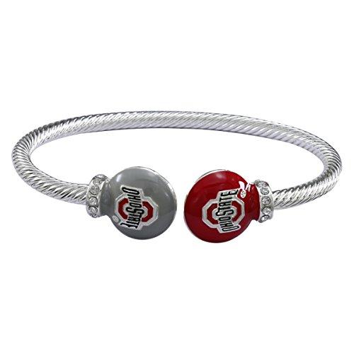 Charm New Brutus - SANDOL Ohio State Buckeyes Adjustable Cuff Bracelet