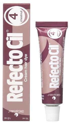 REFECTOCIL Cream Hair Tint Chestnut .5 oz Hair Dye Eyebrows