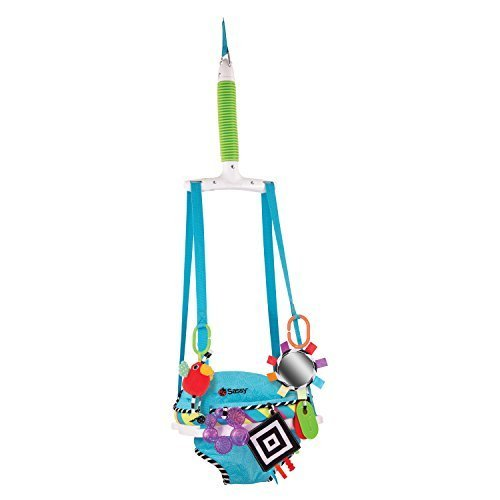 Sassy Inspire the Senses Doorway Jumper with Removable Toys by Sassy