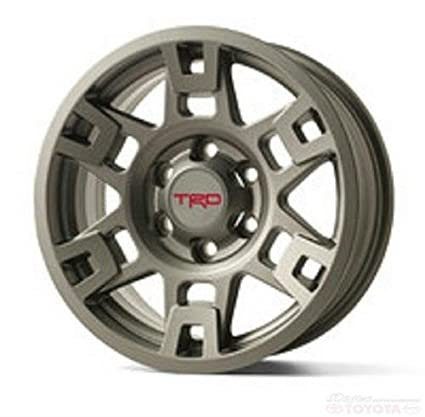 9ffc289f8d3 Amazon.com  TOYTOA TMS TRD METAL GRAY 17 INCH WHEEL PTR20-35110-GR  INDIVIDUAL FJ 4RUNNER  Automotive