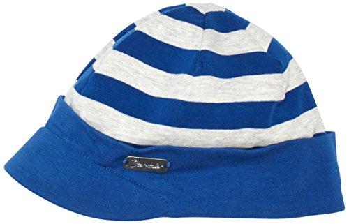 Sterntaler Jungen Mütze Schirmmütze, Gr. 49 cm, Blau (blau 356)
