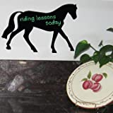 HORSE Chalkboard Vinyl Sticker Decal Wall Decor