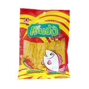 Tenjung Stick Fish Snack Chilli Flavour 42.5g Thailand Product