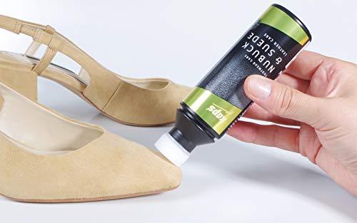 Y Zapatos De Con 118 Acondicionador Ante Esponja Aplicador Nubuck Piel Para Black qOwqfI
