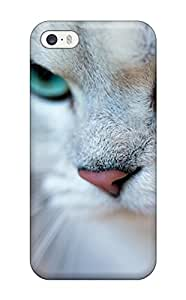 New Style Durable Protector Case Cover With Cat Hot Design For Iphone 5/5s