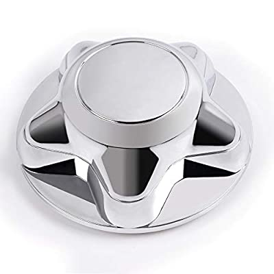 G-PLUS 1PCS Wheel Center Hub Caps Rim Covers Replacement 5 Lug Nut Hubcap for 1997-2003 Ford F150 Expedition Chrome 7