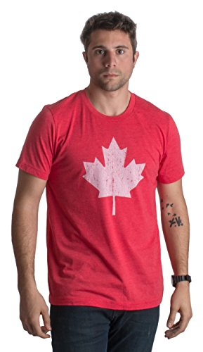 Canada Pride | Vintage Style, Retro-Feel Canadian Maple Leaf Unisex T-shirt